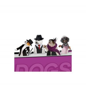 Набор магнитных закладок Dancing Dogs