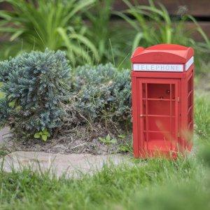 """Кормушка """"Телефонная будка"""" маленькая"""