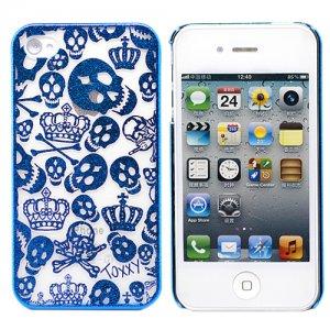 Пластиковый чехол Funny scul Для iPhone 4\4s