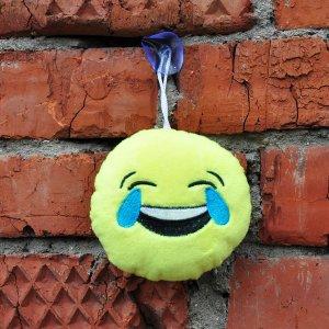 """Игрушка-смайлик Emoji """"ROFL Emoji"""" 11 см на присоске"""