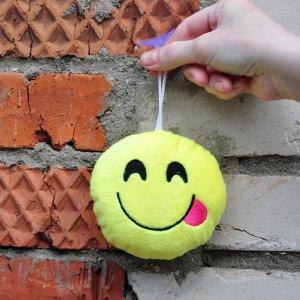 "Игрушка-смайлик Emoji ""Hungry Emoji"" 11 см на присоске"