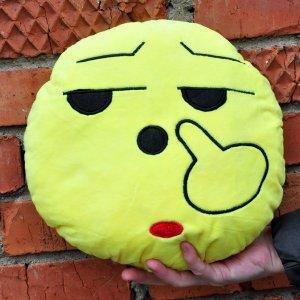 """Подушка Emoji """"Unhappy"""" 27 см"""