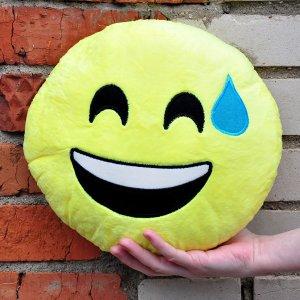 """Подушка Emoji """"Exercise Emoji"""" 27 см"""