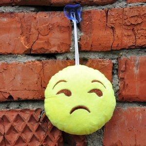 """Игрушка-смайлик Emoji """"Unimpressed Emoji"""" 11 см на присоске"""