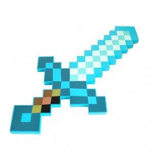 Алмазный меч Minecraft зачарованный Синий