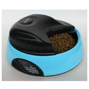 Автокормушка для кошек и собак с ЖК дисплеем и емкостью для льда