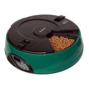 Автоматическая кормушка на 6 кормлений для кошек и мелких пород собак