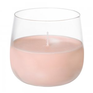 Свеча Ellie розовая