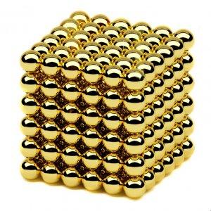 Neocube 5 мм 216 сфер золотой