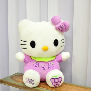 "Мягкая игрушка Hello Kitty ""С виноградом"""