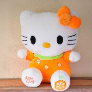 "Мягкая игрушка Hello Kitty ""С апельсинками"""