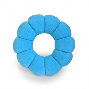 Подушка-трансформер для путешествий Total Pillow голубая