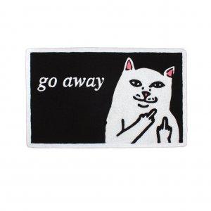 """Коврик Nermal - RIPNDIP """"Go away"""" (черный)"""