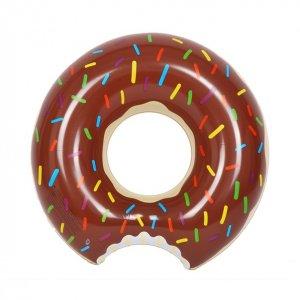 """Надувной круг """"Пончик"""" коричневый"""