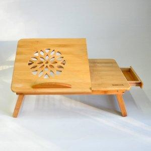 Столик для ноутбука с ящичком 50 х 30 см