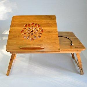 Столик для ноутбука с охлаждением 55x34
