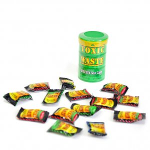 "Кислые конфеты Toxic Waste ""Green Drum"""