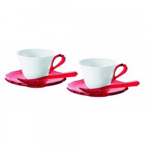 Набор чашек для эспрессо с блюдцами и ложками Belle Epoque