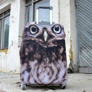 "Чехол для чемодана ""Owl"""