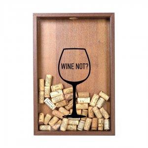 "Копилка для винных пробок ""Wine not?"" бук"