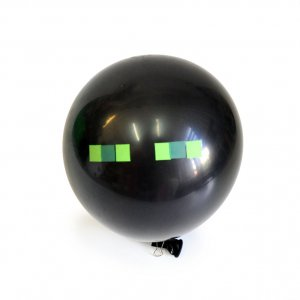 Воздушные шарики Майнкрафт/Minecraft Enderman Green Eyes (5шт)