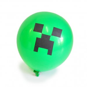 Воздушные шарики Майнкрафт/Minecraft Creeper (5 шт)