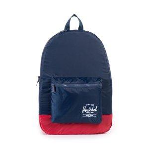 Рюкзак Herschel Packable Daypack Navy/Red