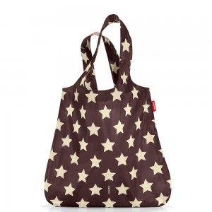 Сумка складная Mini maxi shopper mocha stars