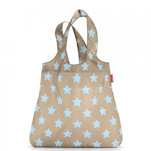 Сумка складная Mini maxi shopper taupe stars