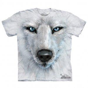 Футболка White Wolf Face