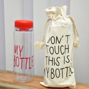 """Бутылка для напитков """"My Bottle"""" красная"""