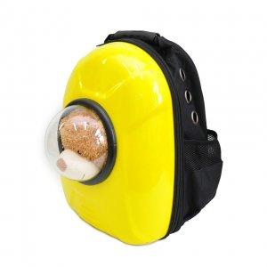 Рюкзак-капсула с иллюминатором, желтый