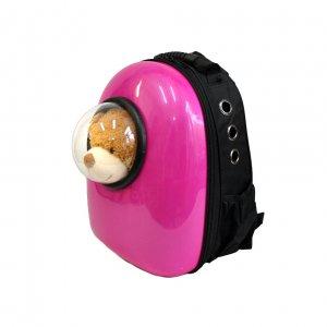 Рюкзак-капсула с иллюминатором, ярко-розовый