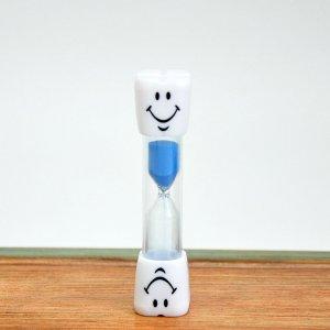 Детские песочные часы голубые 3 минуты
