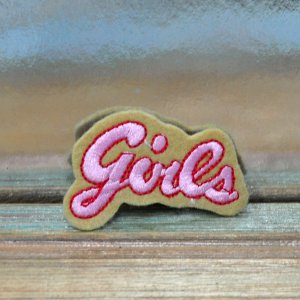 "Нашивка ""Girls"""