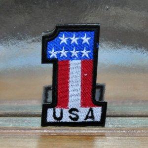 """Нашивка """"USA №1"""""""