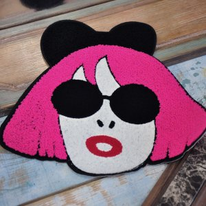 """Нашивка """"Pink Hair"""""""