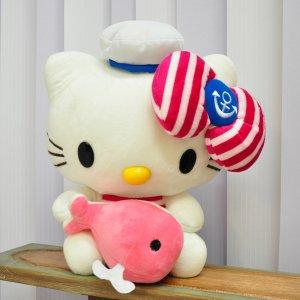 """Игрушка Hello Kitty """"С китом"""" розовый"""