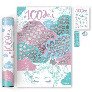 Скретч-плакат 100 Дел настоящей девушки Oh my look edition
