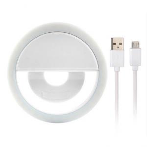 Селфи лампа, питание от USB кабеля