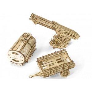 3D-пазл UGEARS Дополнение к грузовику UGM-11