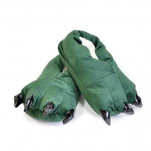 Тапочки для кигуруми зеленые