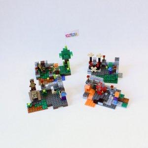 Набор 4 конструктора Майнкрафт 79255