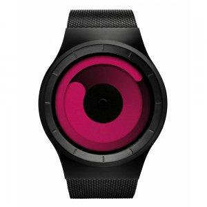 Часы ZIIIRO Mercury Black - Magenta