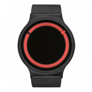 Часы ZIIIRO Eclipse Metalic Black Red