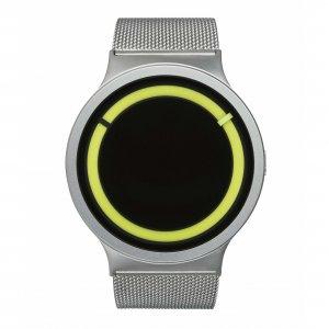 Часы ZIIIRO Eclipse Metalic Chrome Lemon