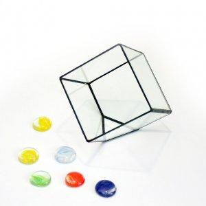 """Ваза для флорариума """"Усеченный куб"""""""