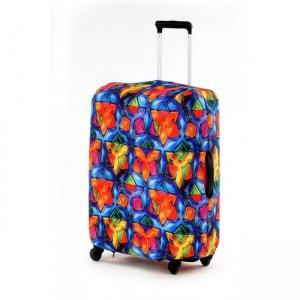 Чехол для чемодана экстрапрочный Мозаика (неопрен)