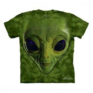 Футболка Green Alien Face