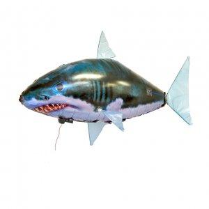 Летающая рыба Shark на радиоуправлении с разноцветным пультом
